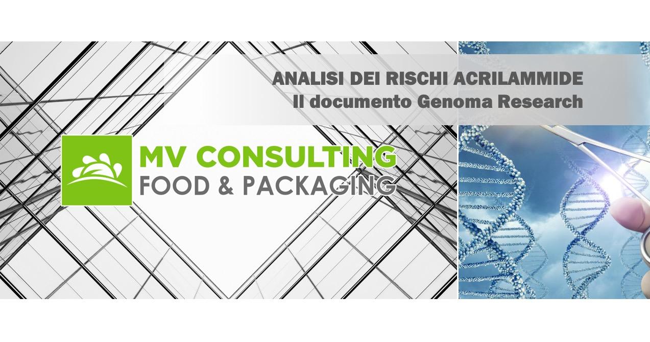 Acrilammide Genoma Research Mv Consulting